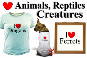 Animals, Reptiles & Creatures