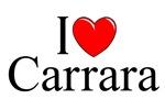 I Love (Heart) Carrara, Italy