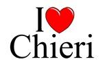 I Love (Heart) Chieri, Italy