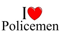 I Love (Heart) Policemen