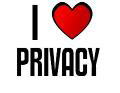 I LOVE PRIVACY