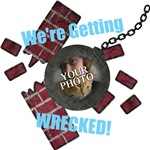 Custom Text & Photo Wrecking Ball