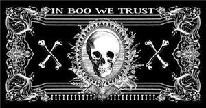 Halloween Spooky Money Design
