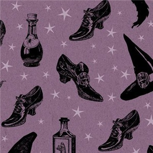 Witch Shoes Pattern