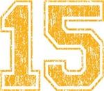 Yellow Retro 15