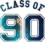 Retro Class Of 90 Space