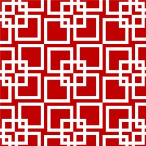 Wobble Lattice Pattern Red