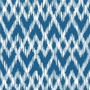 Ikat Pattern Blue