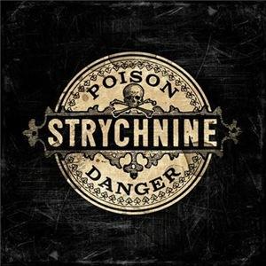 Vintage Style Strychnine Poison Label