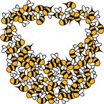 Bee Beard T-shirts