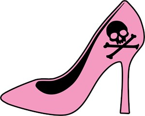 Evil Pink High Heel