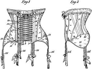 1908 Corset Patent
