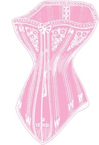 Old Fashioned Corset Pink