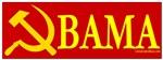 Anti-Obama Hammer & Sickle Red