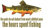 BROOK Trout Fishing Saying