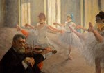 Famous Paintings: The Ballet School