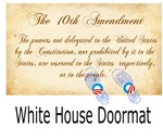 white house doormat