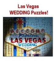 Las Vegas WEDDING Puzzles!