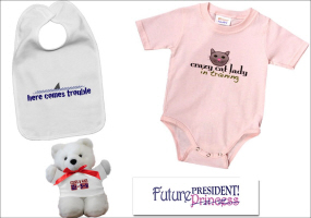 FUNNY AND CUTE BABY BIBS AND KIDS TEES