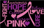 BREAST CANCER AWARENESS MONTH TEES & GIFTS