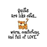 Quilts Are Like Cats