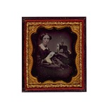 Antique Seamstress Portrait