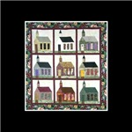 Quilting - Colorful Church Quilt