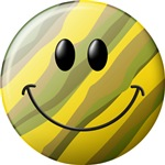 Camouflage Smiley Face