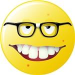 Computer Geek Smiley Face