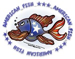 American Fish, Red White Blue Fish