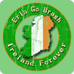 Retro Erin Go Bragh T-shirts