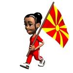 Macedonia Girl T-Shirts