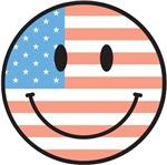 USA Smiley T-Shirts