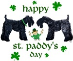 Dark Coat St. Patrick's Day Kerry Blue Terrier T-Shirts