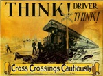 Cross Crossings Cautiously !    