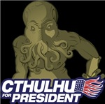 Cthulhu for President Shirts