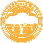 happy little trees (yellow)
