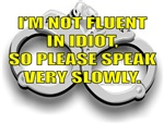 I'M NOT FLUENT