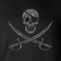 Jolly Roger -stencil