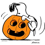 Snoopy Jack O' Lantern