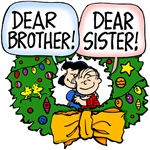 Dearest Sibling Christmas Wreath