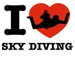 I love Sky diving