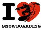I love Snow boarding