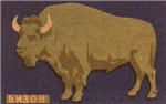 Buffalo Matchbox Label