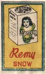 Remy Matchbox Label