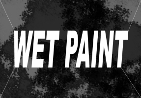 HUMOR/WET PAINT WHITE