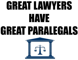 EDUCATION/OCCUPATION/GREAT LAWYERS HAVE GREAT PARA
