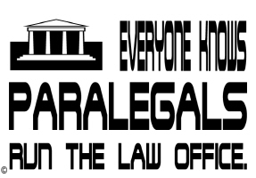 EDUCATION/OCCUPATIONS/PARALEGALS RUN THE OFFICE