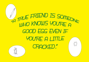 HUMOR/CRACKED EGG