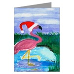Santa Flamingo